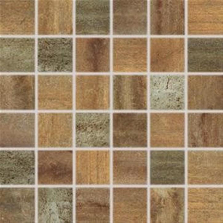 Rush Mosaik 30x30 cm (5/5) cupreous rekt.