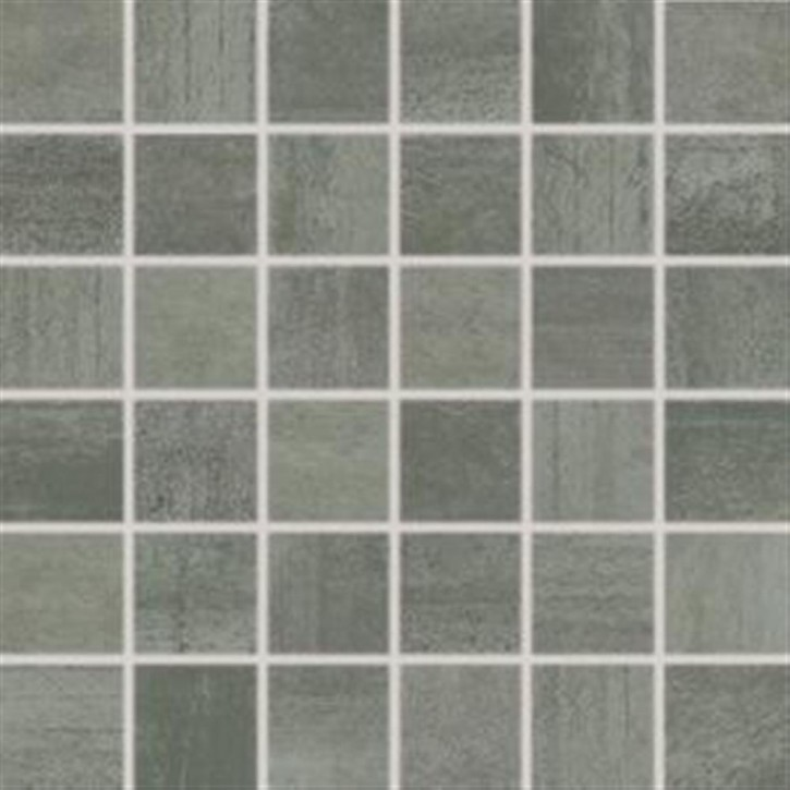 Rush Mosaik 30x30 cm (5/5) dark grey rekt.