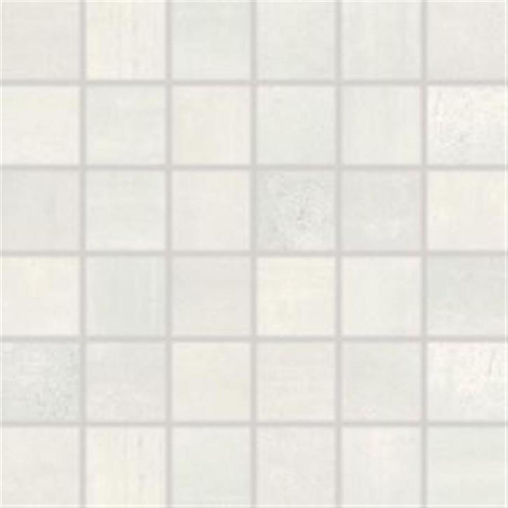 Rush Mosaik 30x30 cm (5/5) light grey rekt.