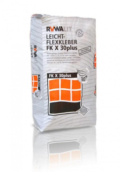 RYWA FK X 30plus Leicht Flexkleber grau 18kg