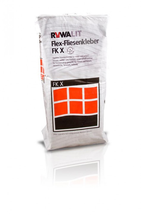 RYWA FK X Flex Fliesenkleber S1 grau 25kg