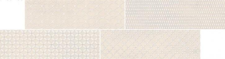 Sandy Island Mosaik 14,4x54,2cm grau matt