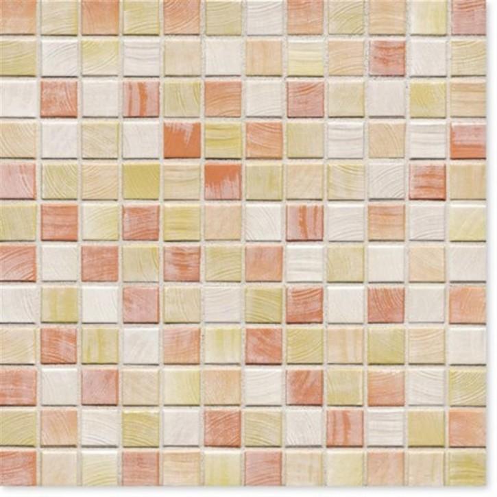 Senja pistazie-mix R10/B Mosaik 2x2x0,65cm