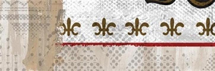 Shabby Dekor 20x60cm Emaille