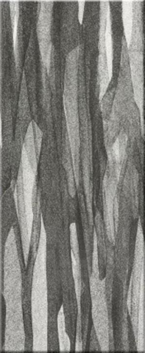 Silk Flächendekor black and white 33x80cm