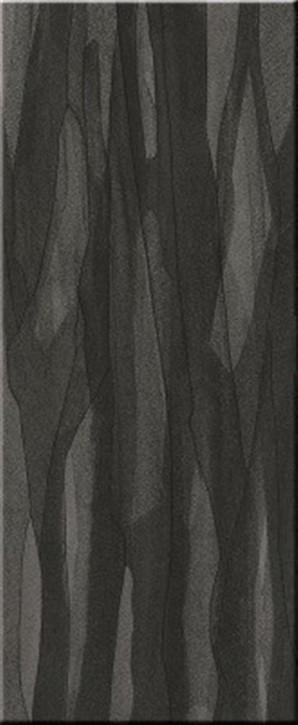 Silk uni 33x80cm black