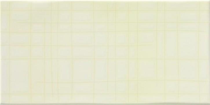 Sketch Dekor 20x40cm scratches pastellgelb