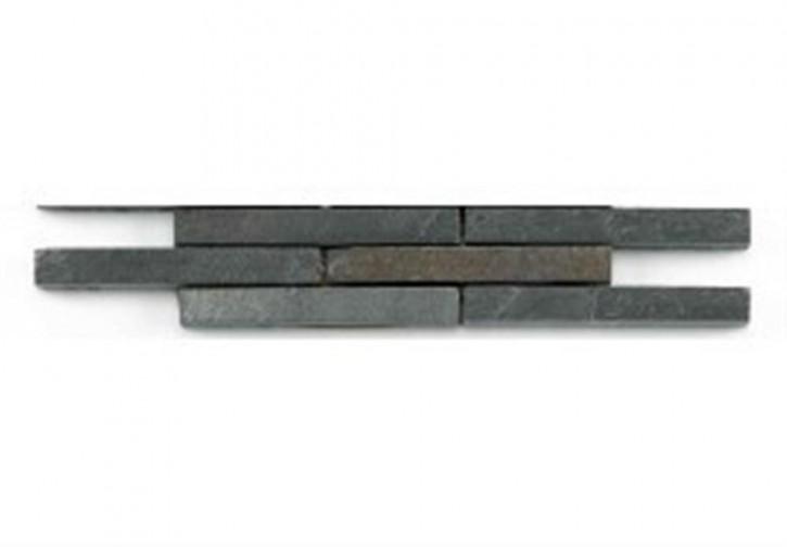 Sticks Bordüre 4,8x24,5cm dunkel grau