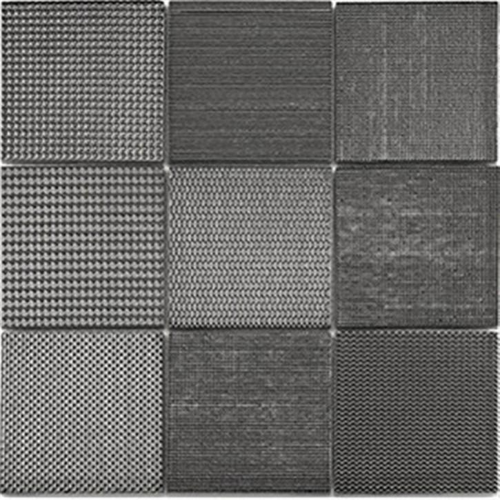 Taris Mosaik 30,8x30,8cm anthrazit