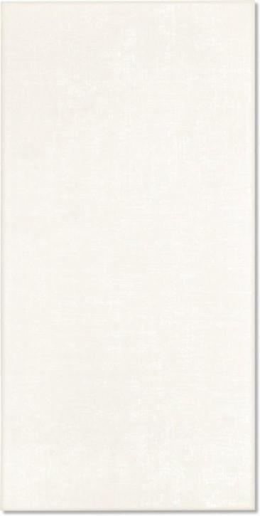 Textil Wand 30x60cm weiß matt