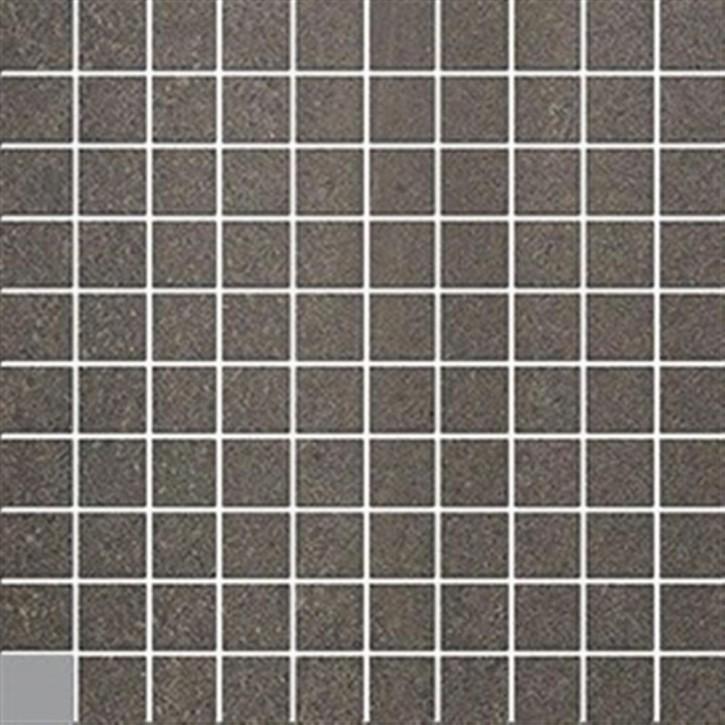 Top Stone Mosaik(3/3) 30x30cm anthrazit ungl. R10B