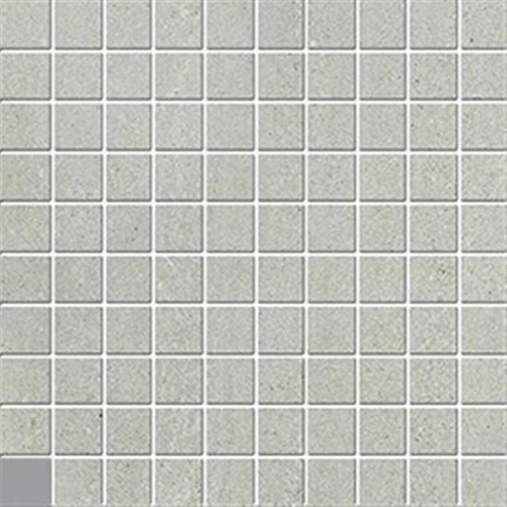 Top Stone Mosaik(3/3) 30x30cm grau ungl. R10B