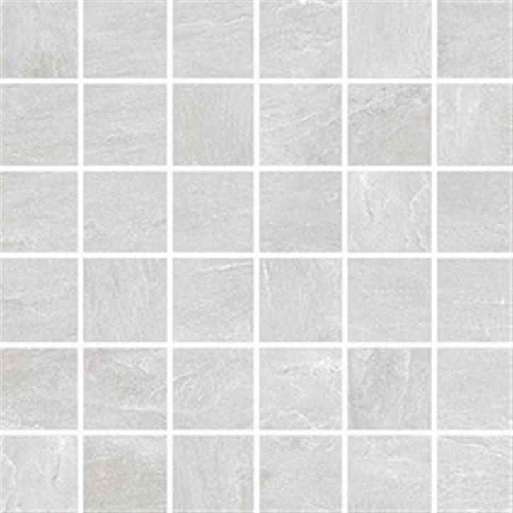 Torstein Mosaik (5/5) 30x30cm weiß ungl. R10B rekt.