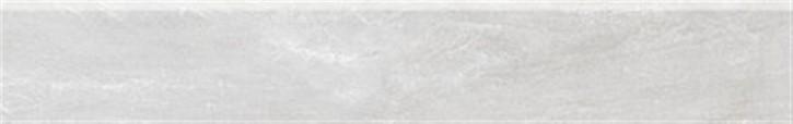 Torstein Sockel 9,5x60cm weiß ungl. R10 rekt.
