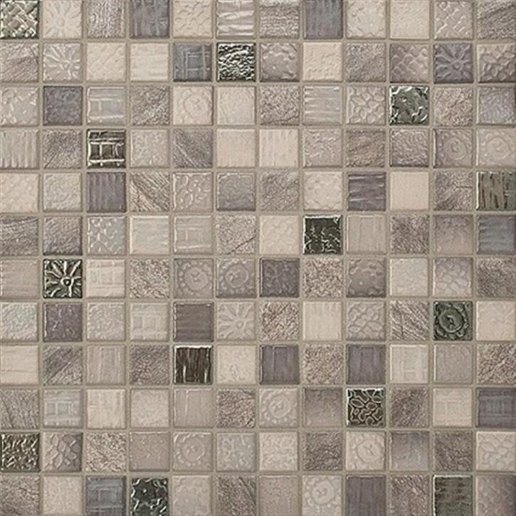 Traces mineralbraun-mix Mosaik 2x2x0,65cm