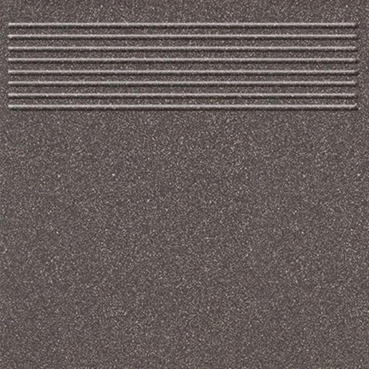 Triton Treppe 30x30cm schwarz R10