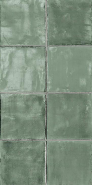 Tsquare Wand 15x15cm Mint Tea glzd.