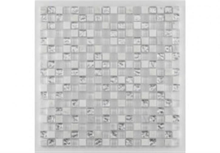 Tuscany Mosaik 29,8x29,8cm brilliant white mix