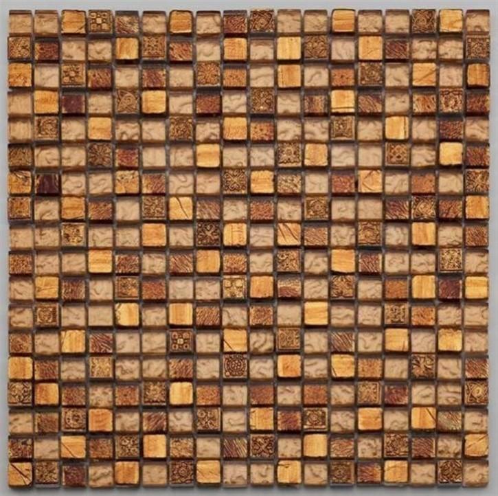 Tuscany Mosaik 29,8x29,8cm warm gold