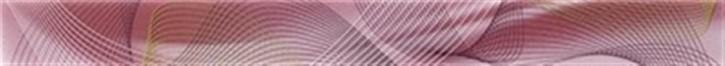 Twister Bordüre 39,7x3,8cm brombeer