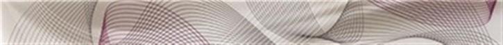 Twister Bordüre 39,7x3,8cm mokka