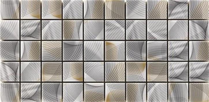Twister Mosaik 20x40cm pfeffer