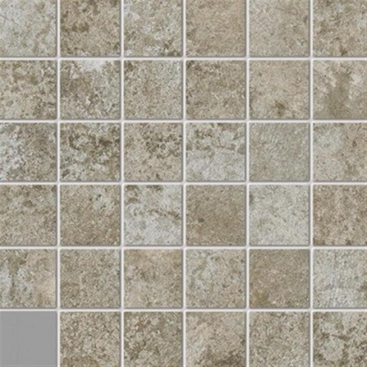 Unikat Mosaik(5/5) 30x30cm beige ungl. R10B
