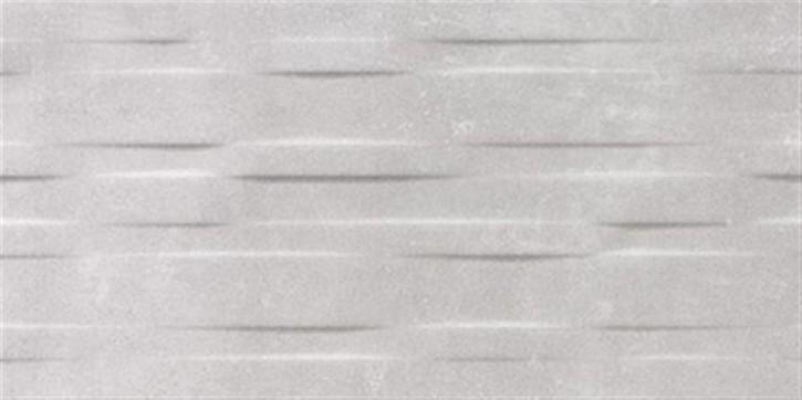 Urban Wall uni Relief 25x50cm mittelgrau