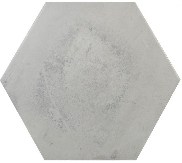 Varese Hexagon 52x60cm cenere matt rekt. Abr.4