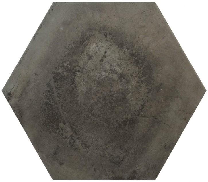 Varese Hexagon 52x60cm grafite matt rekt. Abr.4