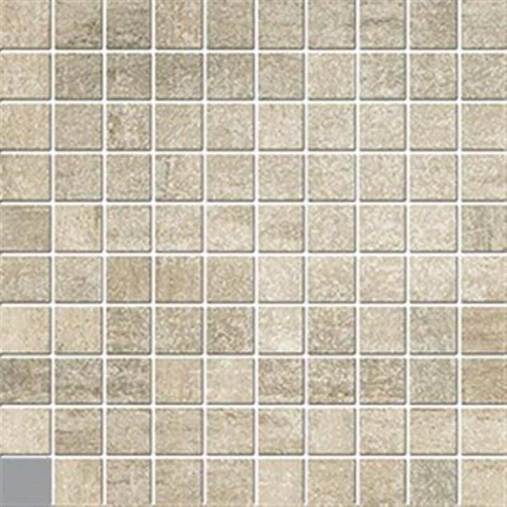 Vincent Mosaik(3/3) 30x30cm walnuss ungl. R10B