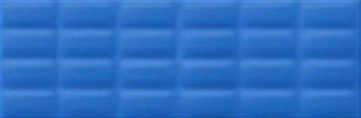 Vivid Colours Wand 25x75cm blau glzd. pillow