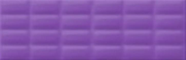 Vivid Colours Wand 25x75cm violett glzd. pillow