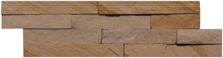 Wandverblender 10x40cm sandstone pietra dorata
