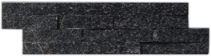 Wandverblender 10x40cm schwarz