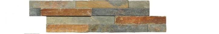Wandverblender 15x60cm multicolor