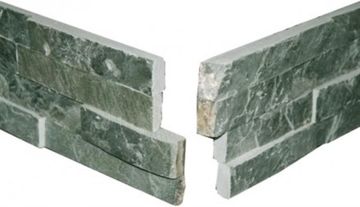 Wandverblender (Ecke, 2-teilig) 15x20/40cm grün