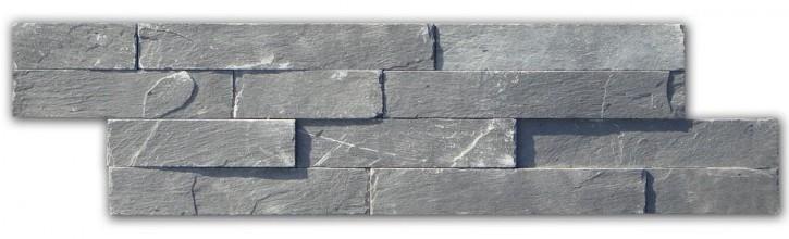 Wandverblender Schiefer 10x40cm schwarz
