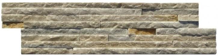 Wandverblender (Slimeline) 10x40cm beige bunt