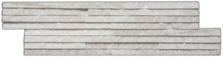 Wandverblender (Slimeline) 10x40cm weiß