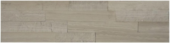 Wandverblender (straight) 10x40cm grey stripe