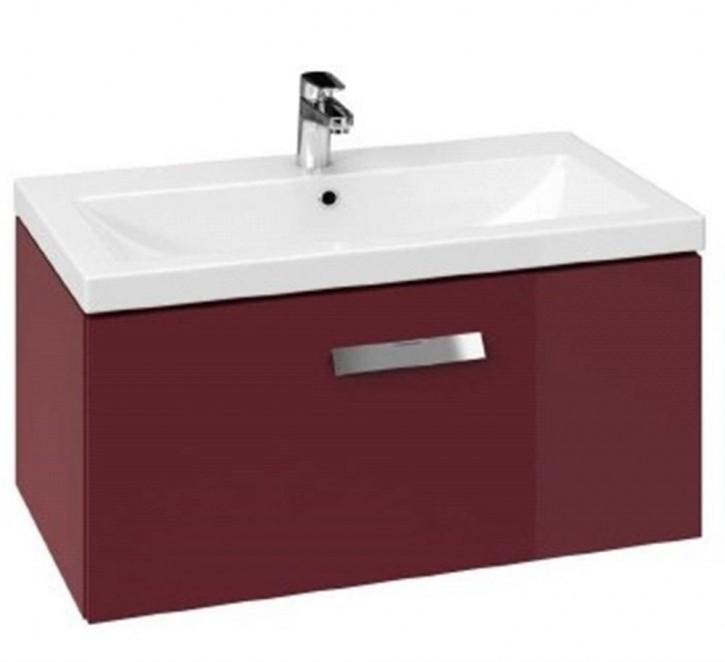 Waschtisch-Unterschrank Xantia red 80 cm